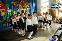 Pasowanie na uczniow Szkoly Podstawowej - Ciezkowice 2015