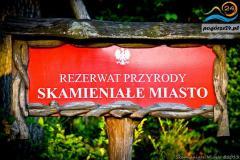 Rezerwat Przyrody Skamieniale Miasto - Ciezkowice 2013