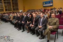 Rozdanie mundurow - ZSOiZ Gromnik 2015