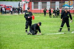 Zawody sportowo-pozarnicze - Ciezkowice 2014